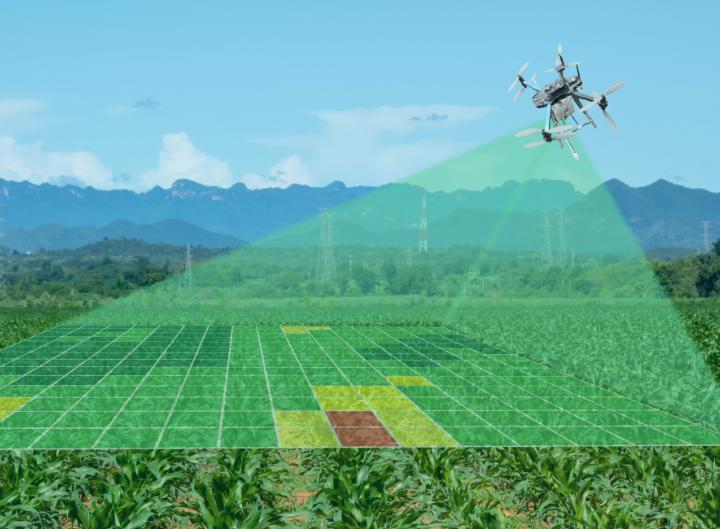 farming drone computer vision